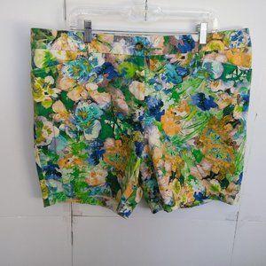 Lands' End Floral Print Shorts